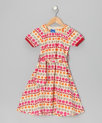 Berry Sorbet Nyt Dress - Toddler & Girls
