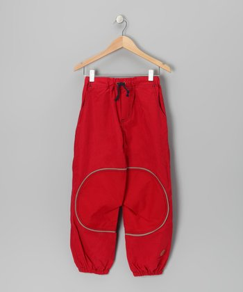 Red Pöllö Pants - Infant, Toddler & Kids