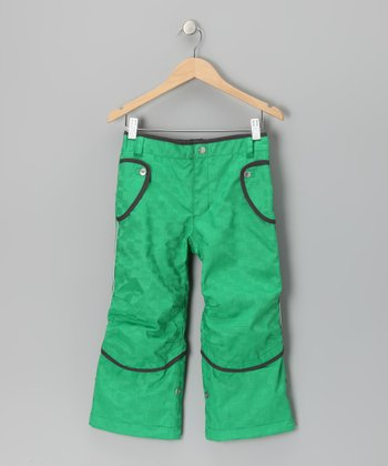 Green Saaga Convertible Pants - Infant, Toddler & Boys