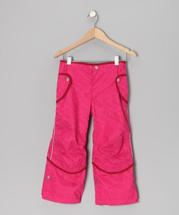 Magenta Saaga Convertible Pants - Infant, Toddler & Girls