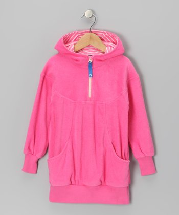 Pink Saari Hoodie - Infant, Toddler & Girls