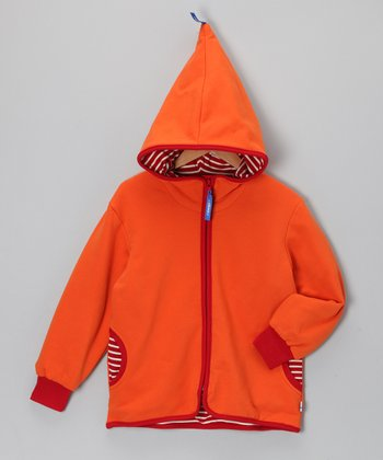 Orange Tonttu Summer Zip-Up Hoodie - Infant, Toddler & Kids