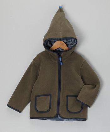 Dark Green Tonttu Jacket - Toddler & Kids