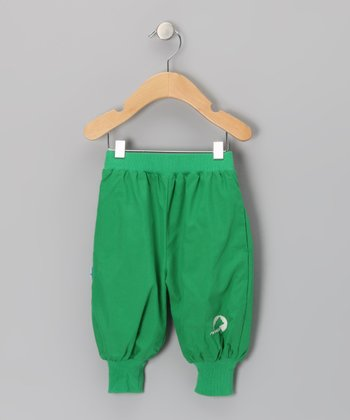 Green Tuplakupla Reversible Pants - Infant, Toddler & Kids