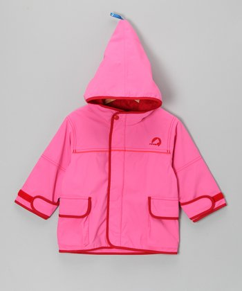 Pink & Red Tuulis Jacket - Infant, Toddler & Girls