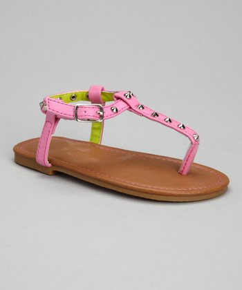 Light Pink Stud Sandal
