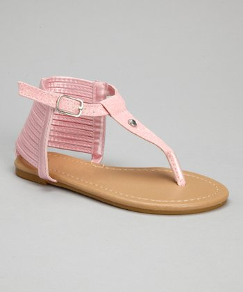 Light Pink Glitter Sandal
