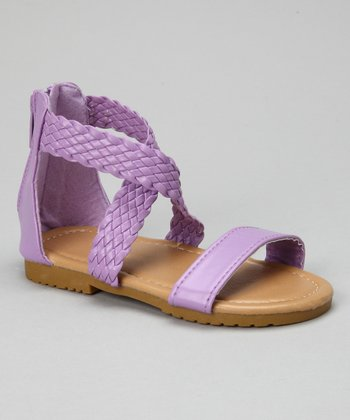 Lilac Braid Sandal