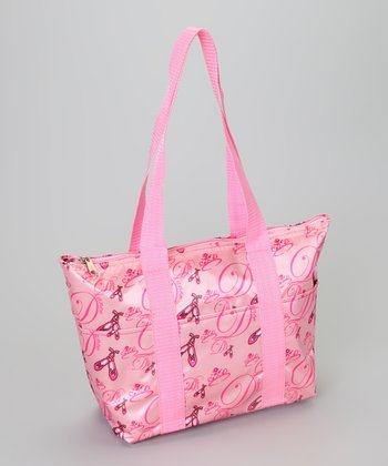 Pink Ballet Lunch Tote