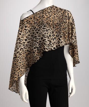 Reno Rose Brown Leopard Pirose Aya Nursing Cover