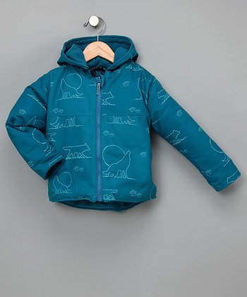 Outside Baby Wolf Reversible Jacket - Infant, Toddler & Kids