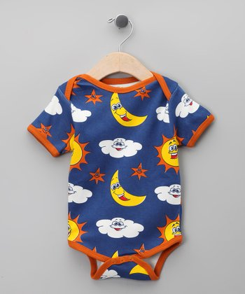 Royal Sky Organic Bodysuit - Infant