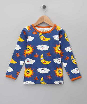 Royal Sky Organic Long-Sleeve Tee - Infant, Toddler & Kids
