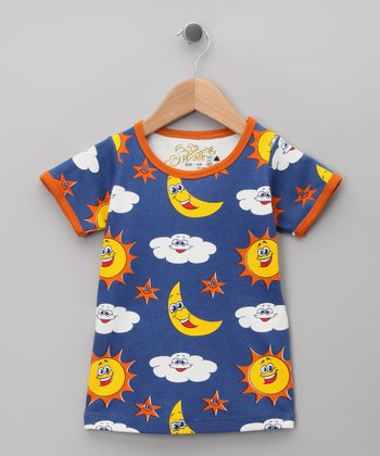 Royal Sky Organic Tee - Infant, Toddler & Kids