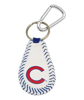 Chicago Cubs Baseball Key Chain
