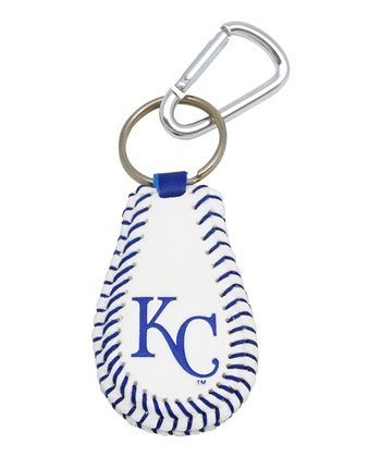 Kansas City Royals Baseball Keychain