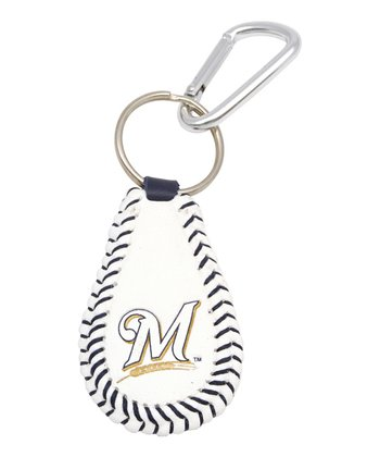 Milwaukee Brewers Baseball Keychain