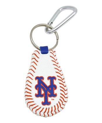 New York Mets Baseball Key Chain