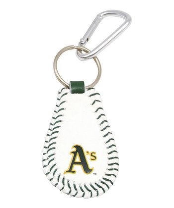 Oakland Athletics Baseball Key Chain