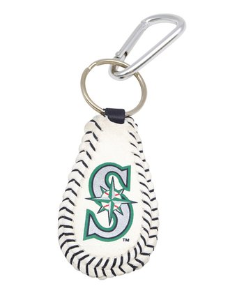 Seattle Mariners Baseball Keychain