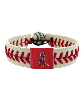 Los Angeles Angels Classic Baseball Bracelet