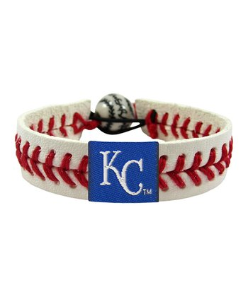 Kansas City Royals Classic Baseball Bracelet