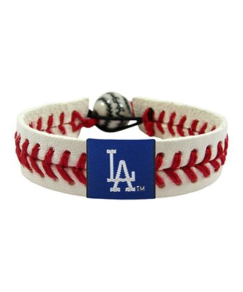 Los Angeles Dodgers Classic Baseball Bracelet