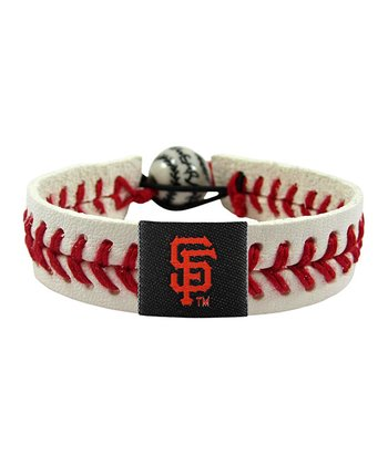 San Francisco Giants Classic Baseball Bracelet