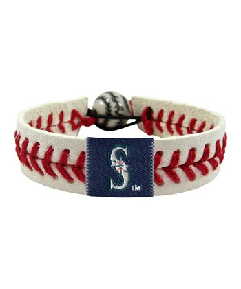 Seattle Mariners Classic Baseball Bracelet