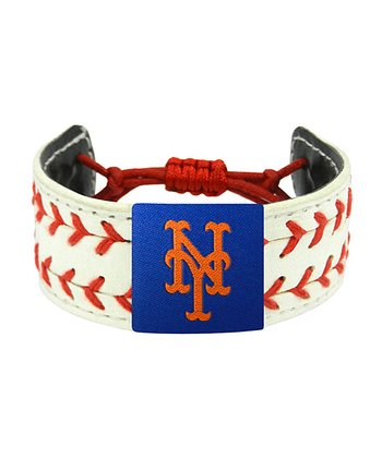 New York Mets Classic Two Seamer Bracelet