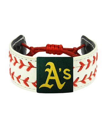 Oakland Athletics Classic Two Seamer Bracelet
