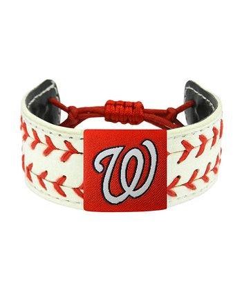 Washington Nationals Classic Two Seamer Bracelet