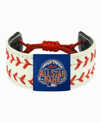 New York Mets All-Star Game Two Seamer Bracelet