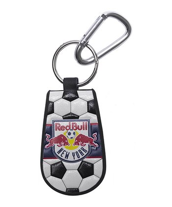 New York Red Bulls Leather Key Chain