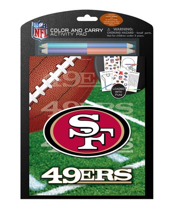 San Francisco 49ers Color & Carry Activity Set