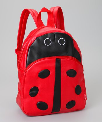 Red Ladybug Backpack