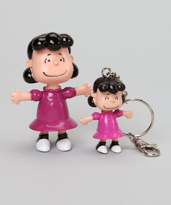Lucy van Pelt Bendable & Key Chain Set