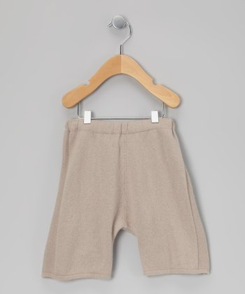 Beige Cashmere Pants - Infant