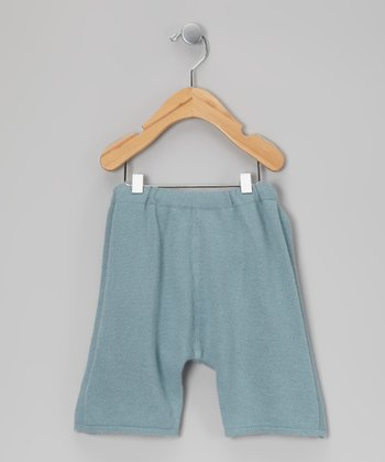 Light Blue Cashmere Pants - Infant