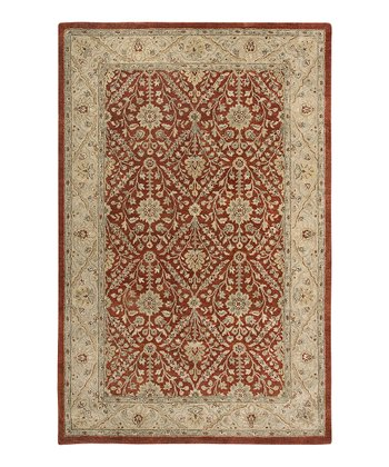 Red & Gold Jaghuri Ghazni Rug
