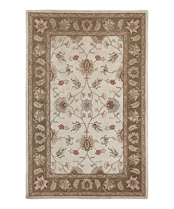 Camel & Brown Wool San Giovanni Mosaic Rug