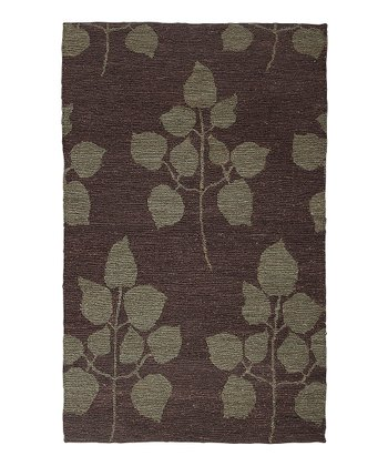 Chocolate Hemp Tobago Paradise Rug