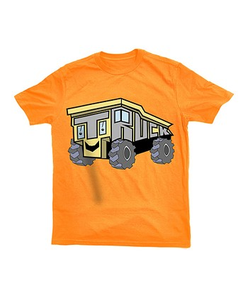 Orange Truck Tee - Toddler & Kids