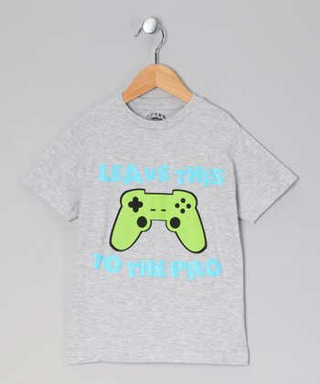 Gray Remote Pro Tee - Toddler & Kids