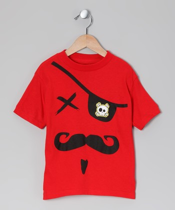 Red Pirate Tee - Toddler & Boys
