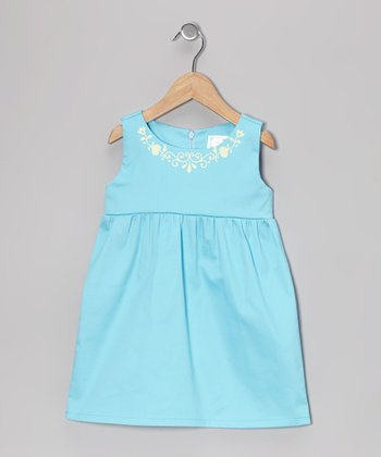 Turquoise Brentwood Dress - Toddler & Girls