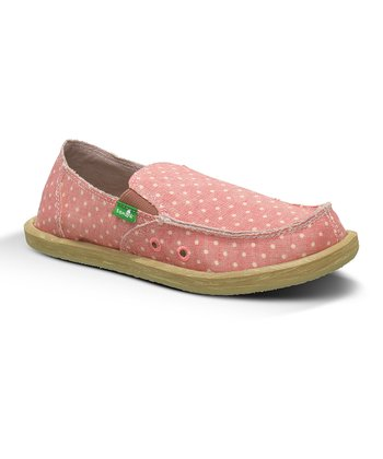 Pink Dotty Slip-On Shoe - Kids