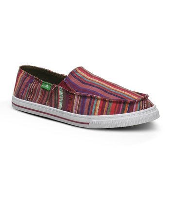 Magenta Cabrio Poncho Slip-On Shoe