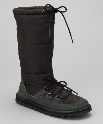 Black Cariboot Boot - Women