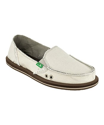 Cream Plain Jane II Slip-On Shoe - Women